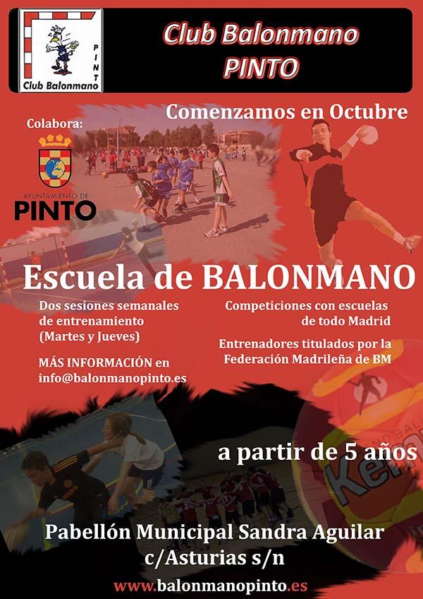 Balonmano Pinto